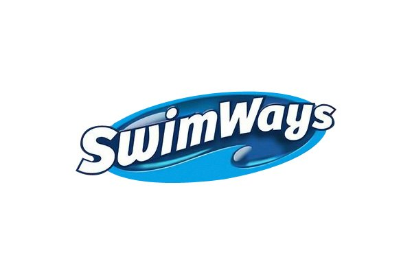 Logo of our Swim Ways product that we sell at Reflection Pools