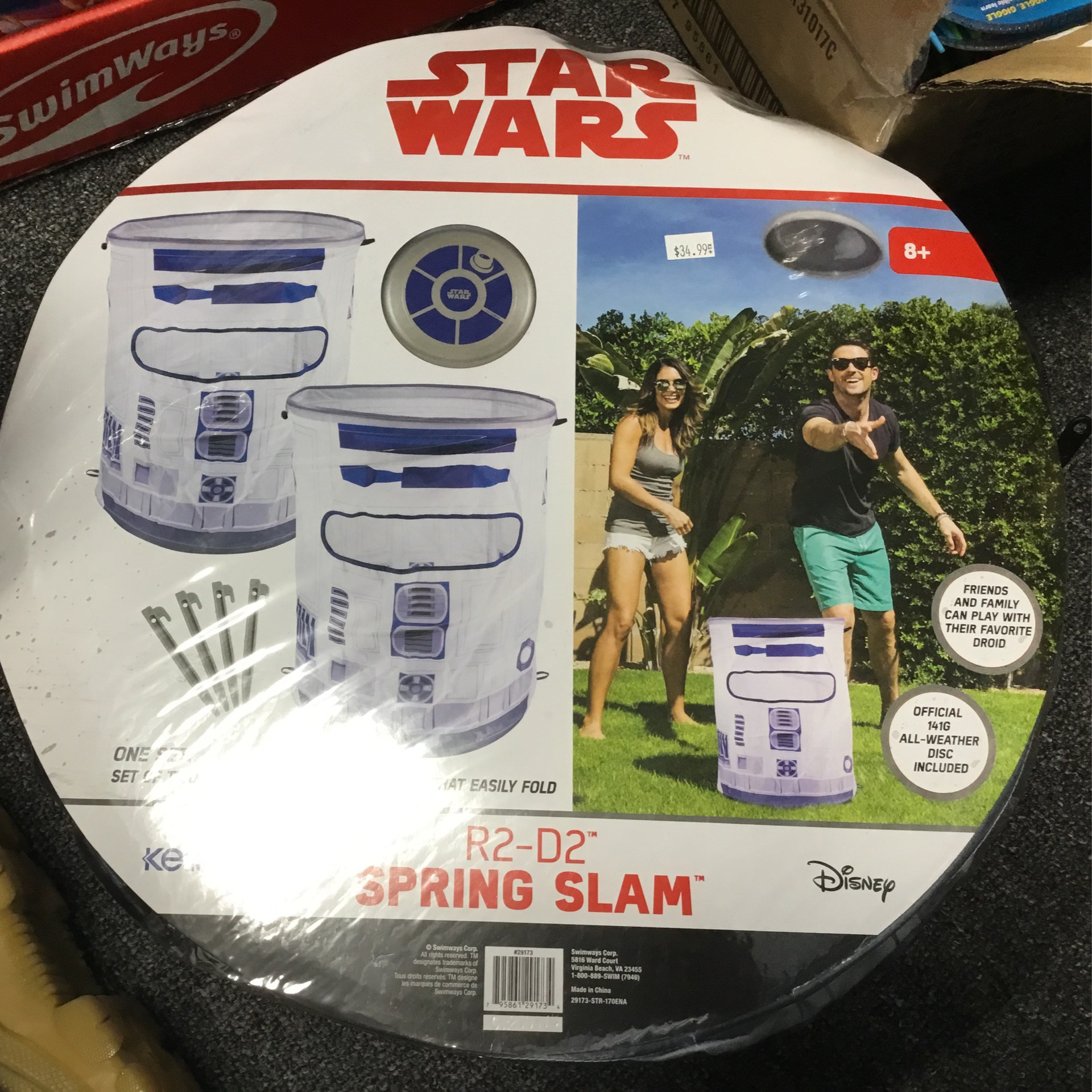 Star Wars Can Jam Spring Slam